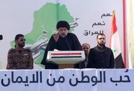 Muqtada al Sadr llama a una sentada masiva a las puertas de la Zona Verde de Bagdad