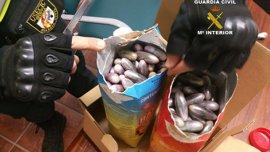 A prisión cuatro de cinco detenidos por transportar 48 kilos de hachís