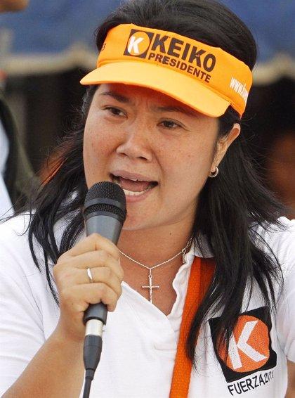 Keiko Fujimori acusa al Gobierno de polarizar y de introducir violencia en la campaña