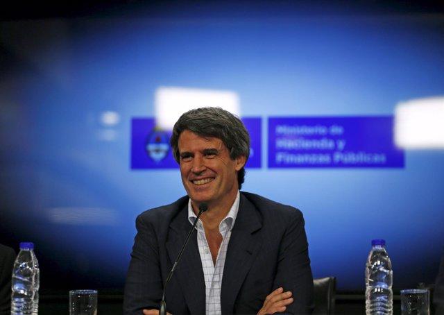 Ministro de Economía argentino Alfonso Prat-Gay