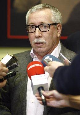 Ignacio Fernández Toxo en la Asamblea de Delegados y Delegadas de CCOO