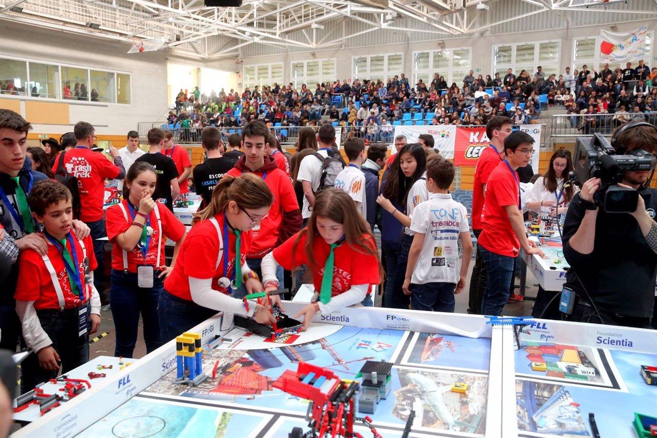 Final de la First Lego Leage España 2016