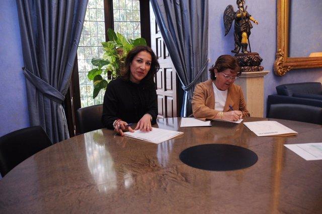 Epremasa firma un convenio con Villanueva de Córdoba