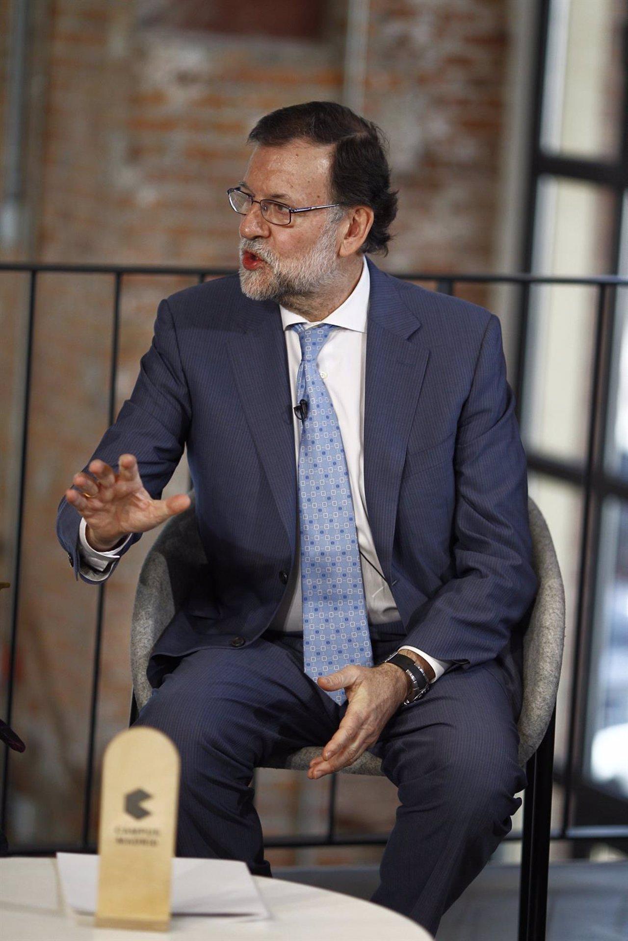 Mariano Rajoy preside un acto con mujeres emprendedoras