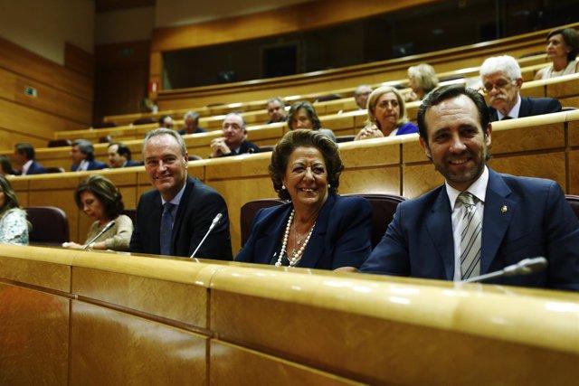 Reunión del Grupo Parlamentario Popular en el Senado
