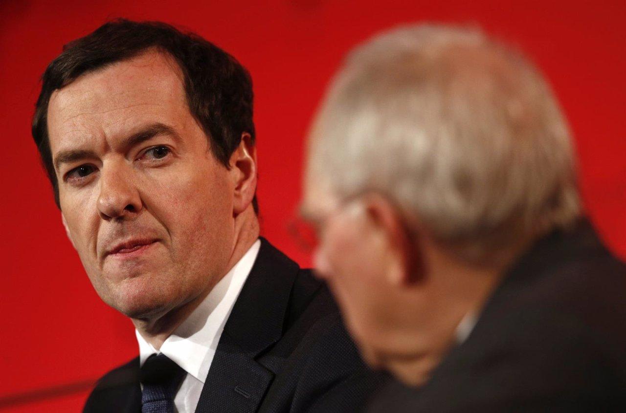 El ministro de Finanzas británico, George Osborne