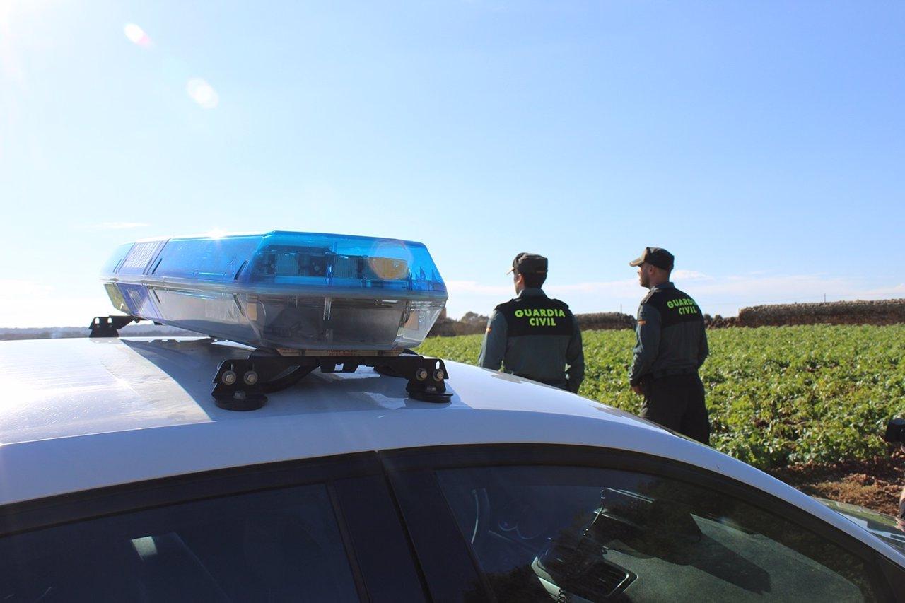 Agentes del Equipo Roca de la Guardia Civil
