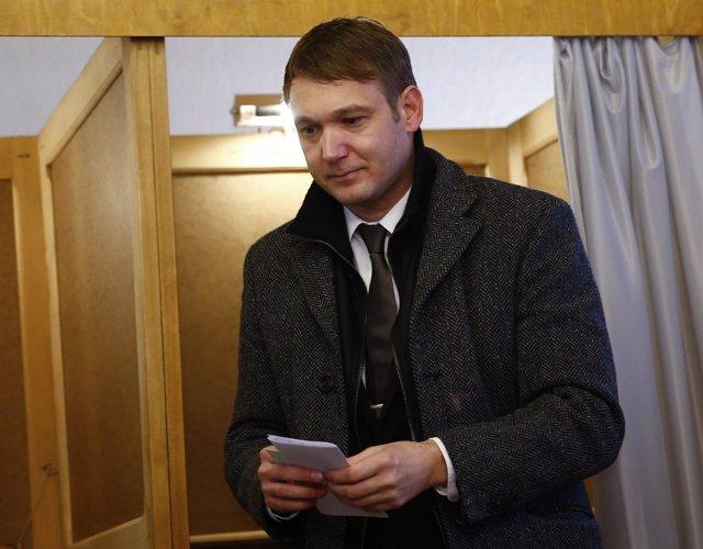 André Poggenburg, líder de Alternativa para Alemania (AfD)