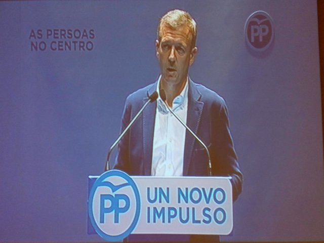 El número dos del PPdeG, Alfonso Rueda, elegido presidente del PP Pontevedrés