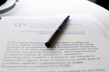 Periodistas iberoamericanos se dan cita en Andorra para hablar de la profesión
