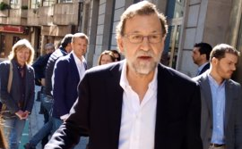 Rajoy aspira a lograr que le retiren la declaración de 'non grato' en Pontevedra