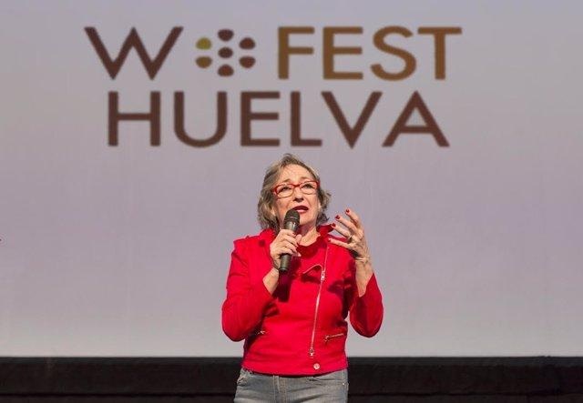 La actriz Luisa Gavasa