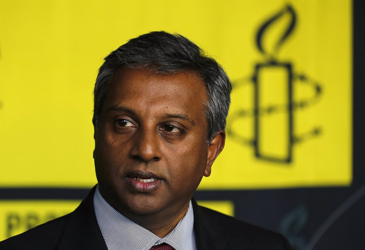 El secretario general de Amnistía Internacional, Salil Shetty