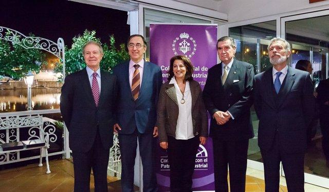 Entrega de premios del Colegio de Ingenieros Industriales Andalucía Occidental