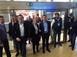 """Rajoy avanza """"una buena noticia"""" para el naval a Feijóo,"""