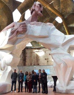 Visita de Ciudadanos al Pabellón de las Artes de Jun (Granada)