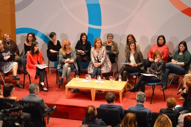Acto de mujeres socialistas en Pontevedra