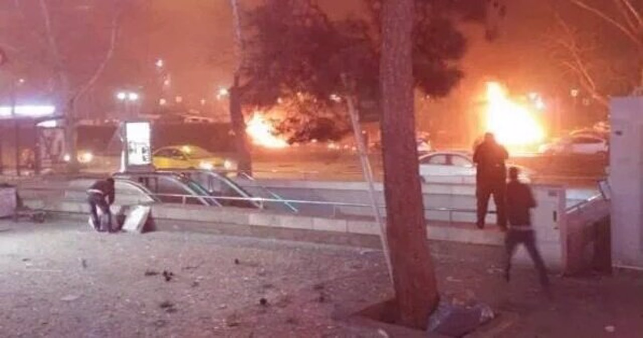 Atentado con coche bomba en Ankara, Turquía