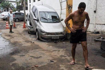 Las lluvias en Río de Janeiro dejan dos muertos y un desaparecido
