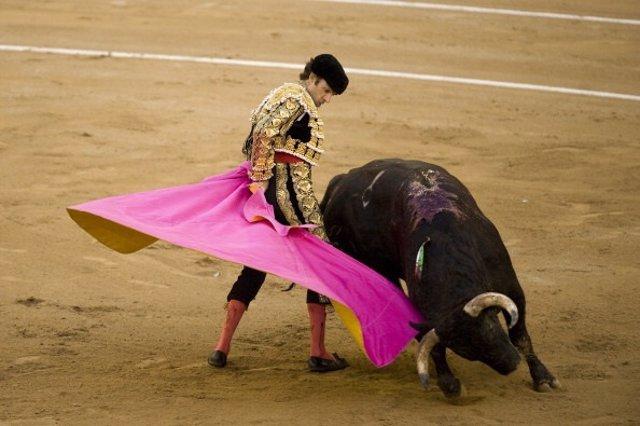 Torero José Tomas en Barcelona