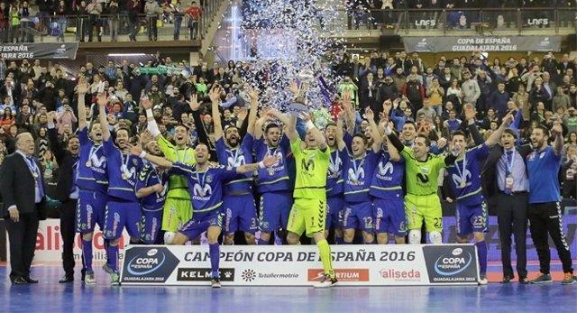 El Movistar Inter, campeón de la Copa de España