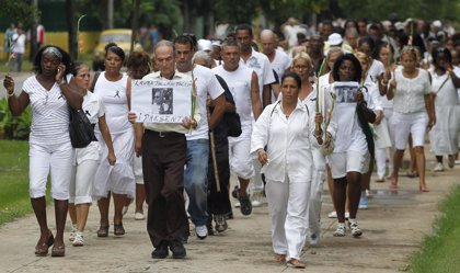 Obama promete a las Damas de Blanco abordar el tema de los Derechos Humanos en su visita a Cuba