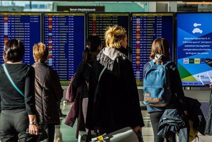 Aena eleva un 14,3% sus pasajeros hasta febrero, con un 8,1% más de vuelos