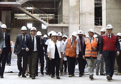 Sacyr ya tiene construido el 50% del hospital de Antofagasta, el mayor de Chile