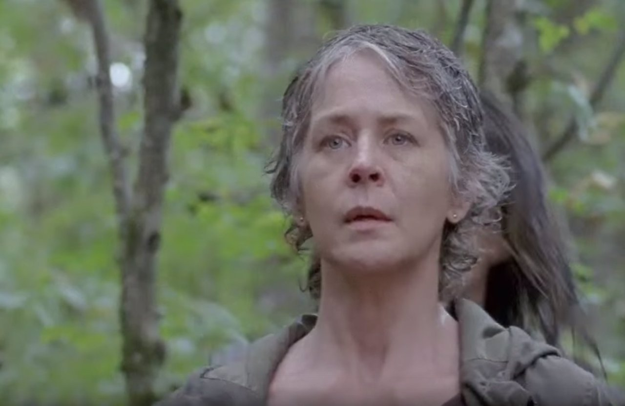 Melissa McBride es Carol en The Walking Dead