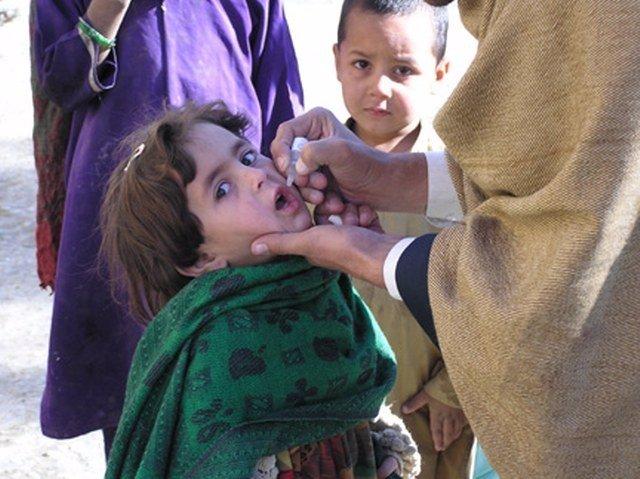 Campaña de vacunación contra la polio