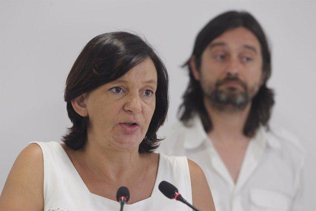 Carolina Bescansa y Rafael Mayoral, de Podemos