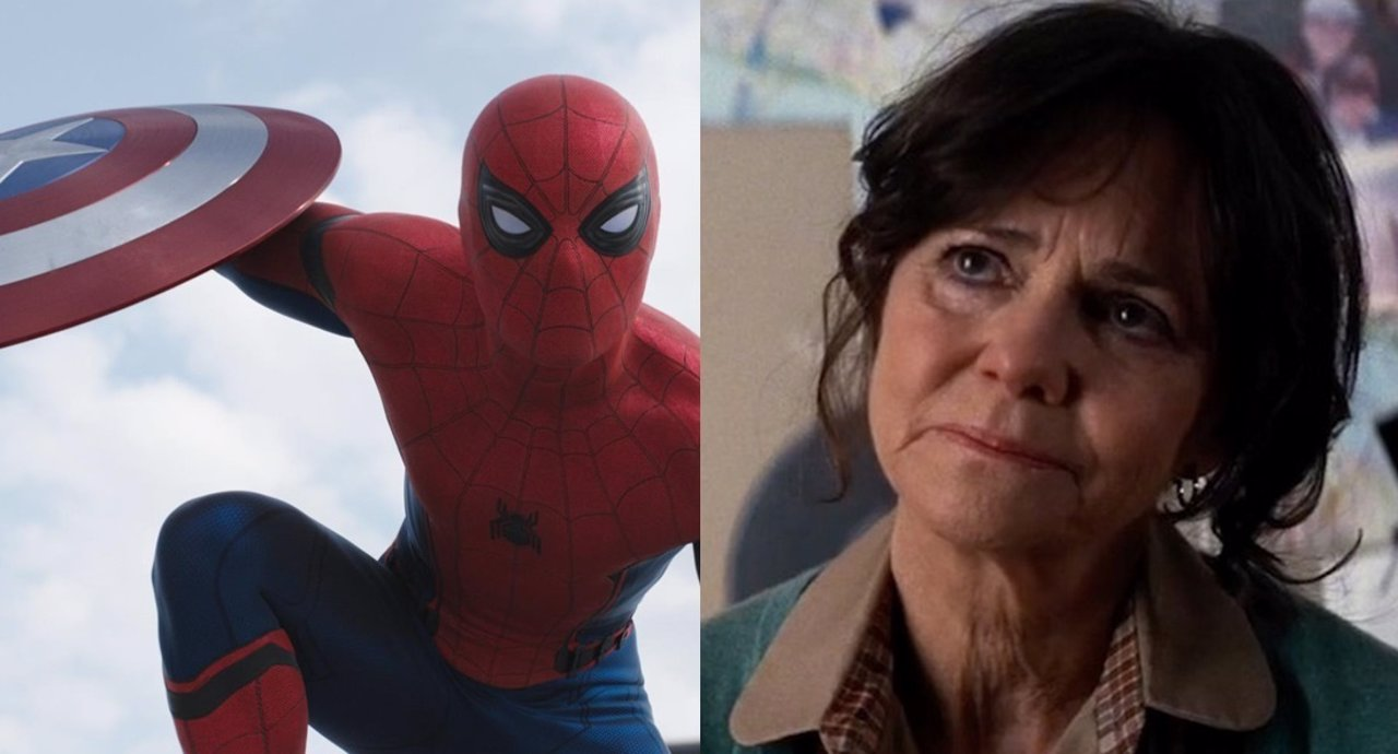 Sally Field y Spiderman