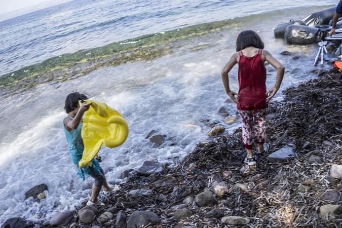 Niños llegados a Europa