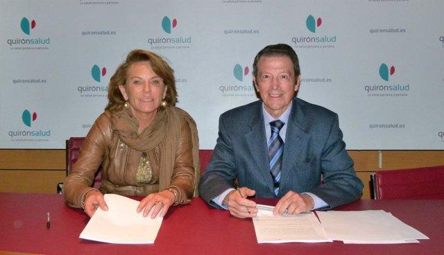 Quirónsalud Sagrado Corazón y Sevilla Congress, convenio de colaboración