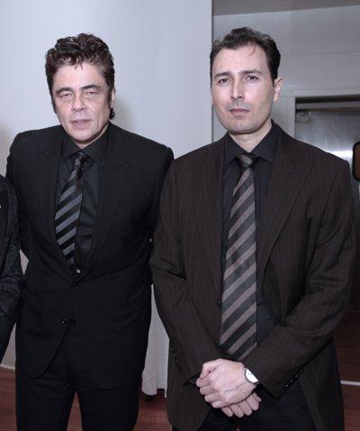 Benicio del Toro y Artur Balder