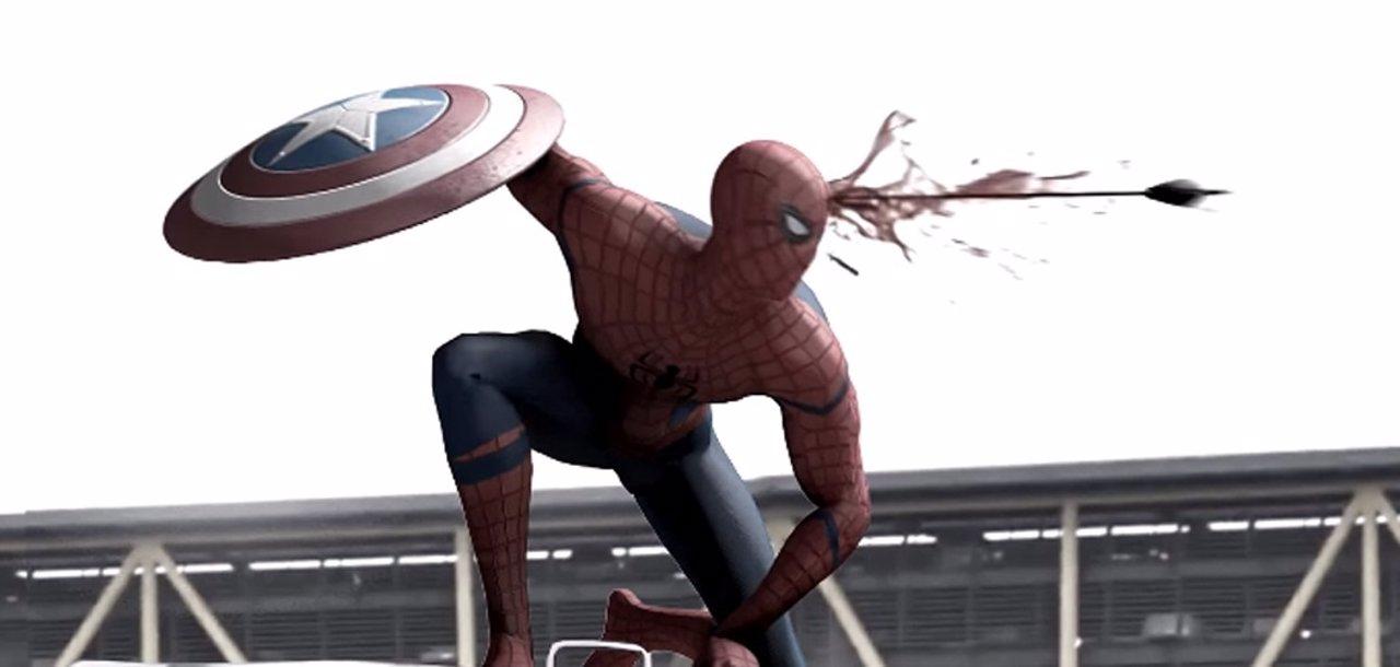 Alternativo de Spiderman en Capitán América Civil War