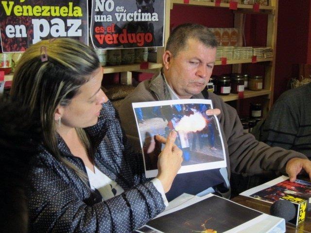 """Víctimas de las Guarimas: """"Los opositores no son presos políticos, son delincuen"""