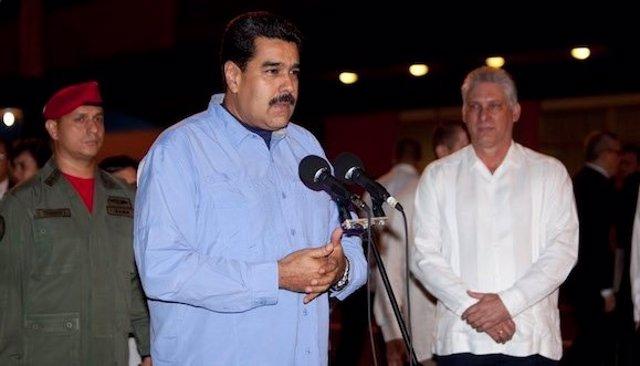 Nicolás Maduro llega a Cuba en visita oficia, 2 días antes de la llegada de Obam