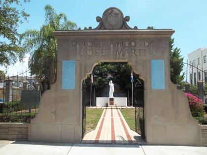 Parque 'Amigos de José Martí', un territorio cubano dentro de Estados Unidos