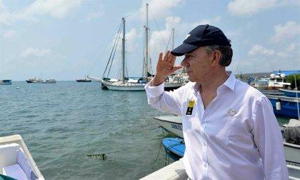 Colombia/Nicaragua.- Santos admite que la decisión de no comparecer ante la CIJ fue tardía