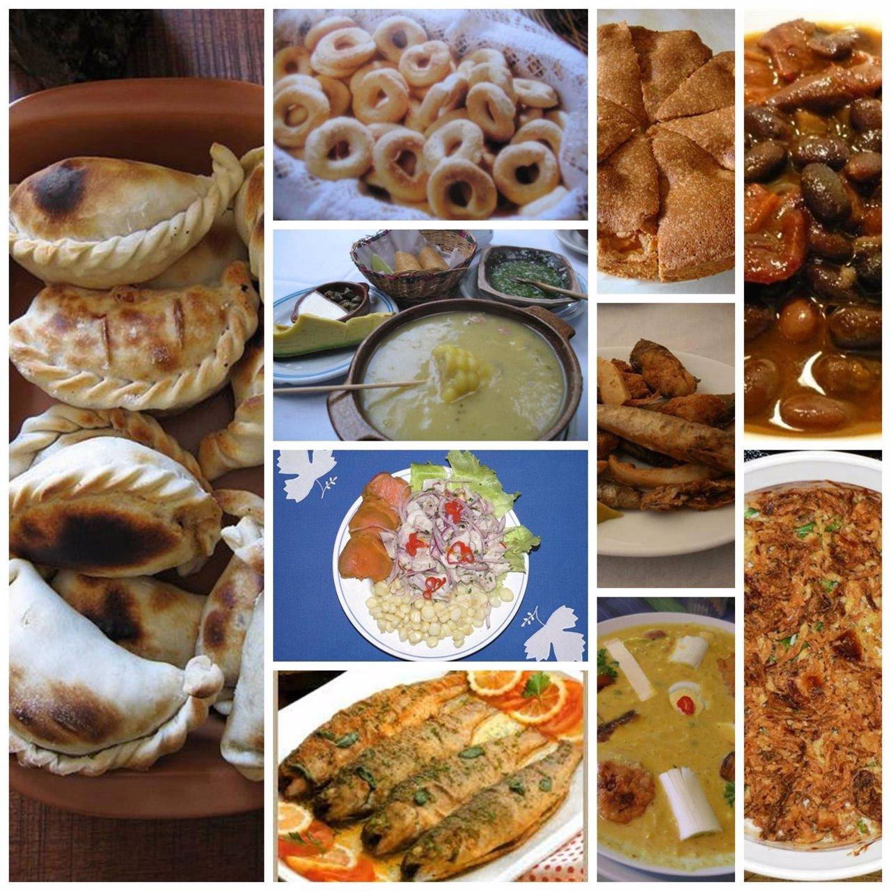Los platos t picos en la semana santa de iberoam rica for Comida semana santa