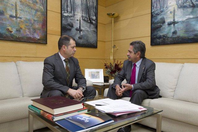 Revilla con Rubén Calderón