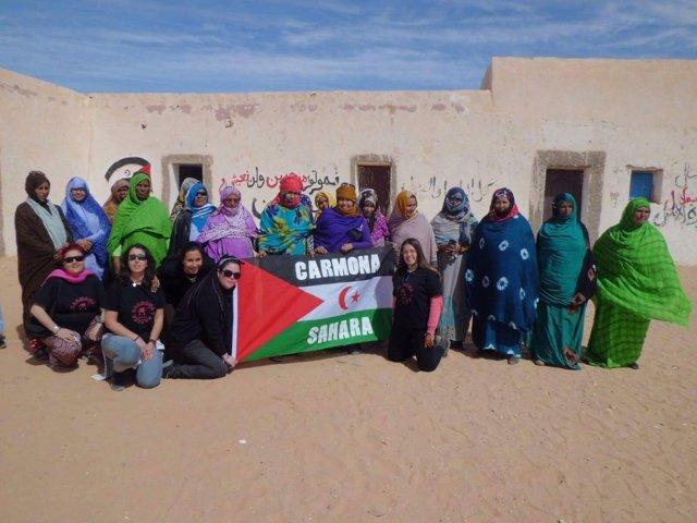 Ayuda humanitaria en el Sáhara