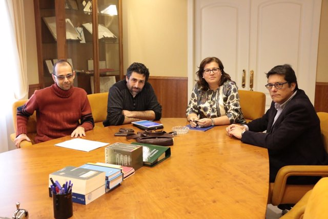 Reunión entre el Ayuntamiento de Córdoba y el Colegio de Abogados
