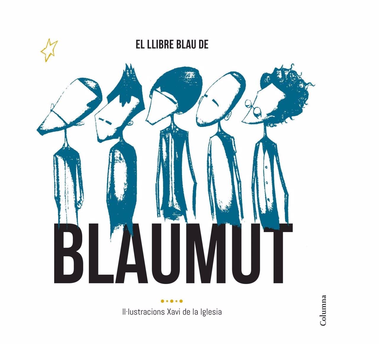 Portada del libro del grupo Blaumut