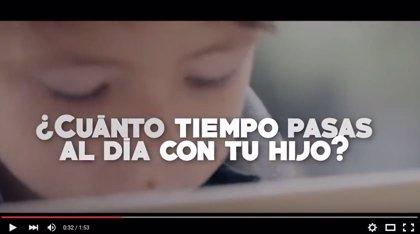 'Se buscan padres y madres', emotiva campaña por la conciliación