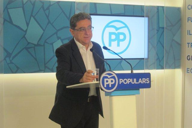 El portavoz del PP catalán, Enric Millo