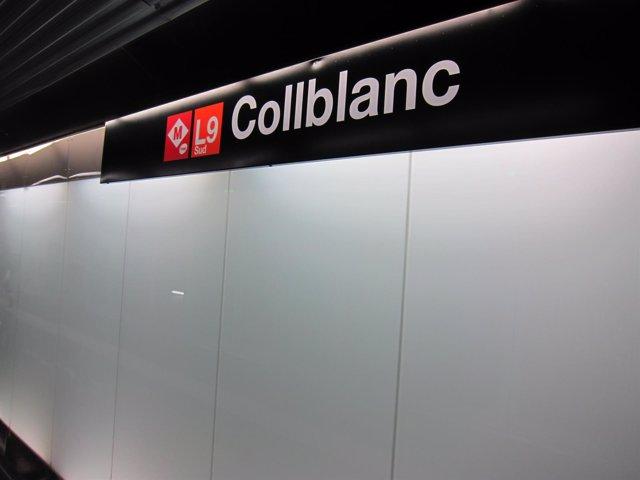 L9 Sud del Metro de Barcelona, estación Collblanc