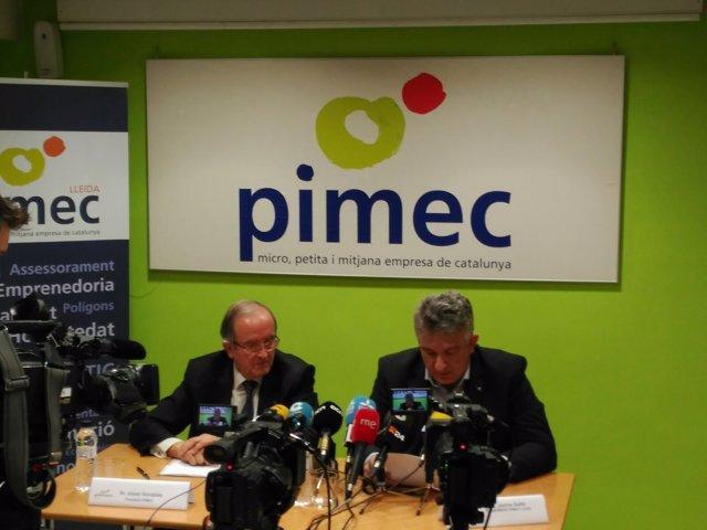 Josep González y Jaume Saltó