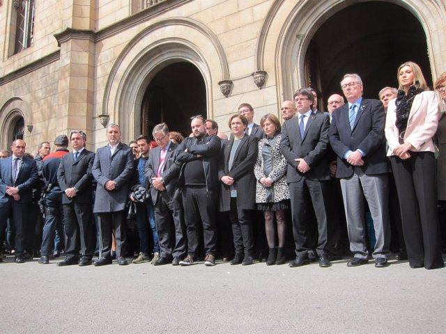 Acto de recuerdo de las víctimas del accidente de Freginals en la UB